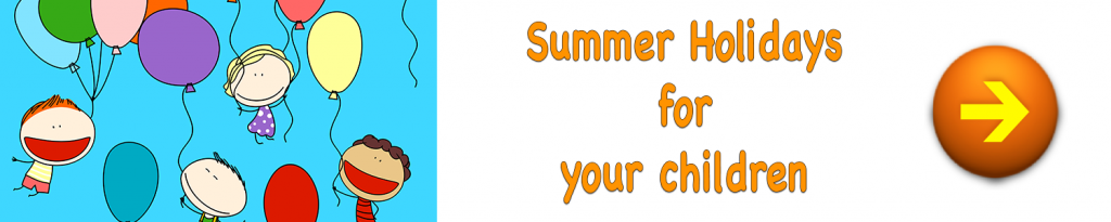 summer holiday tuition in Cambridgeshire - horizontal banner